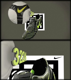 Nike T90 Mobile Application Hong Kong